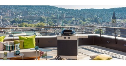 The barbecue AROSA 570 G - the novelty of the 2020 season from OUTDOORCHEF
