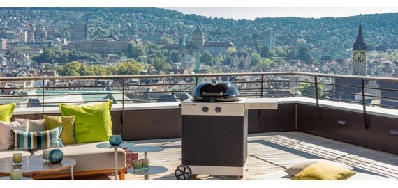 The barbecue AROSA 570 G - the novelty of the 2020