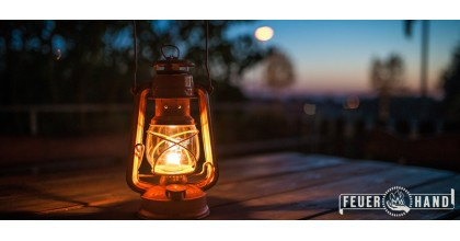 Cum functioneaza felinarul cu gaz lampant FEUERHAND?