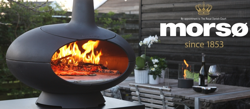 Stoves, fire places and wood barbecues – MORSØ Danmark