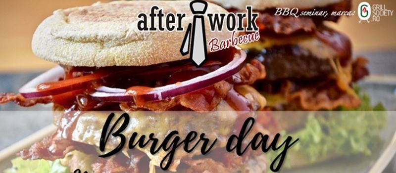 Burger Day, seminar After Work Barbecue