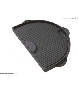 Cast iron griddle Oval 200