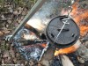Dutch oven with tripod 6 liter