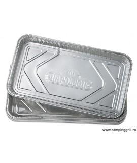 Set 5 tavi aluminiu