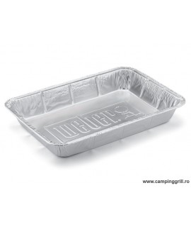 Aluminium trays 10 pcs. set Large