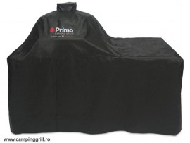 Cover Primo Oval XL in wood table