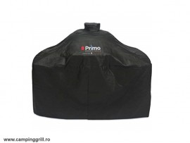 Cover Primo Oval Junior in cart with tables