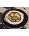 Baking stone pizza