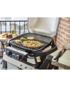 Grilling pizza stone Weber
