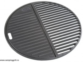 Two part castiron cooking grid 45 cm
