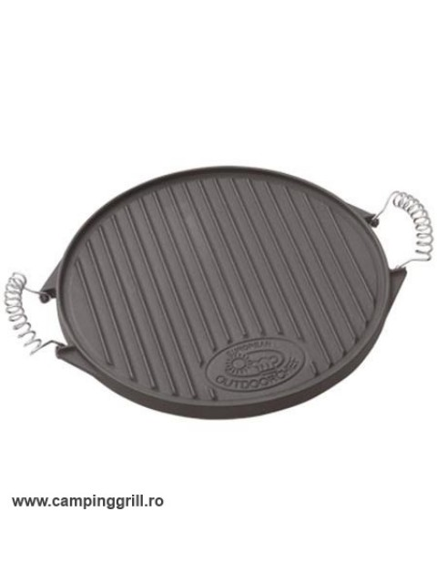 Cat iron griddle 33 cm