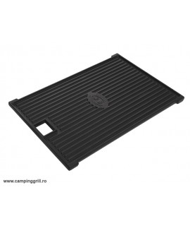 Griddle plate rectangular