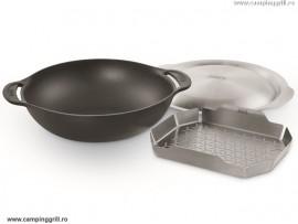 Weber cast iron wok Gourmet