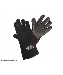 Leather gloves Weber
