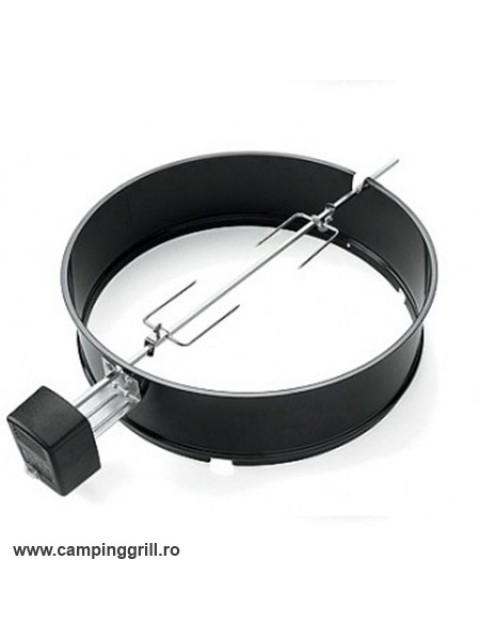 Rotisserie for Weber charcoal grill