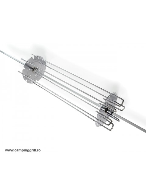 Rotisserie skewer 6 pcs. set