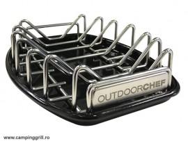 Universal grill rack