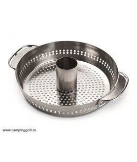 Stainless steel pan for chicken
