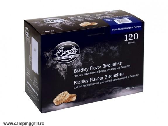 Biscuiti afumare Pacific Blend 120 buc. Bradley