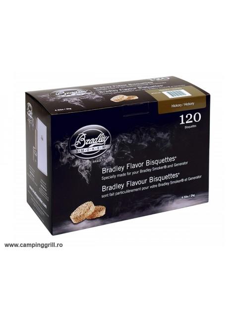 Biscuiti afumare hicori 120 buc.Bradley