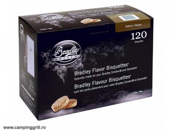 Biscuiti afumare hicori 120 buc. Bradley