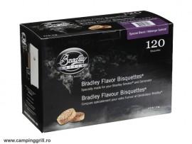 Biscuiti afumare special blend 120 buc. Bradley