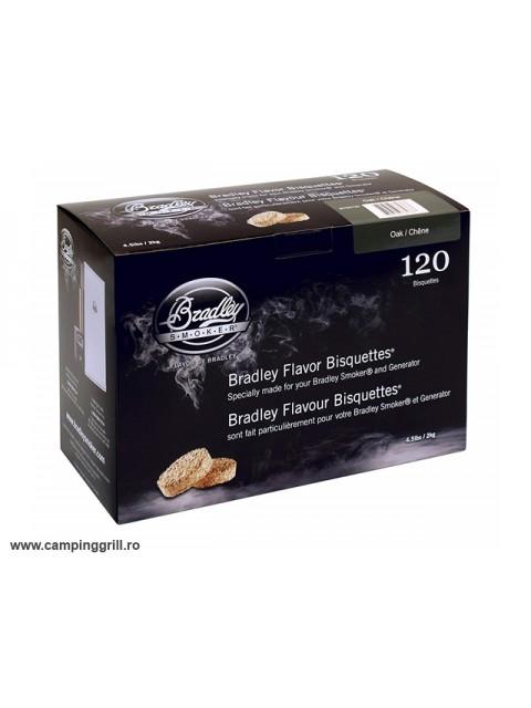 Biscuiti afumare stejar 120 buc. Bradley