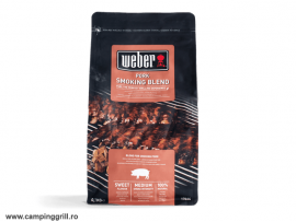 Pork wood chips blend Weber