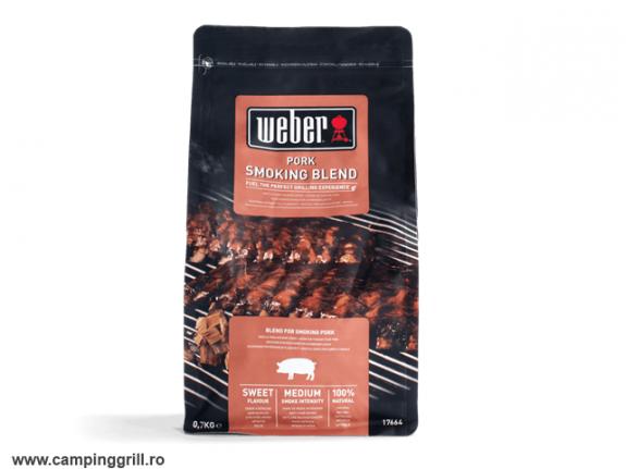 Pork wood chips blend Weber