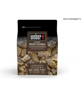 Wood chunks hickory Weber
