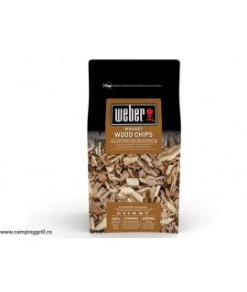 Smoking chips whiskey Weber