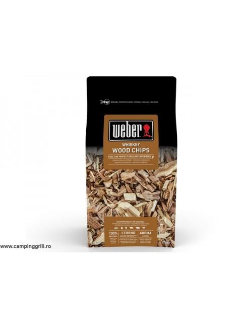 Smoking chips whiskey Weber