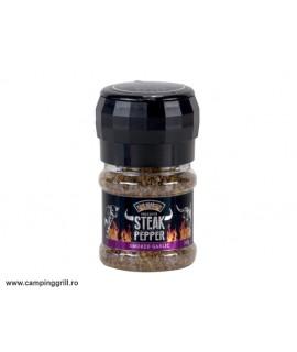 Smoked Garlic Pepper mill