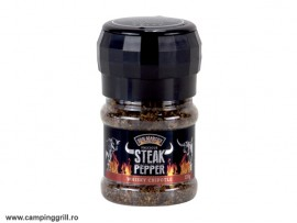 Whiskey chipotle pepper mill