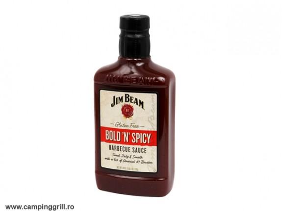Sos BBQ Jim Beam Bold N Spicy