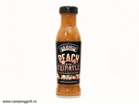 Grill sauce peach rom chipotle