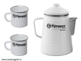 Percolator set for coffee and tea Petromax