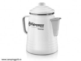 Coffee and tea percolator white Petromax