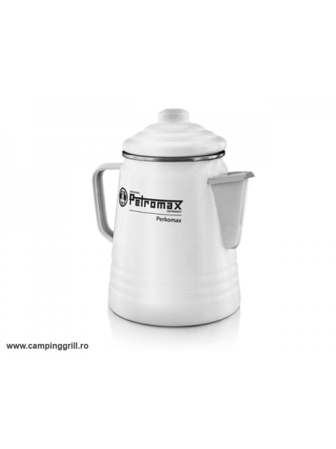 Percolator ceai si cafea alb Petromax