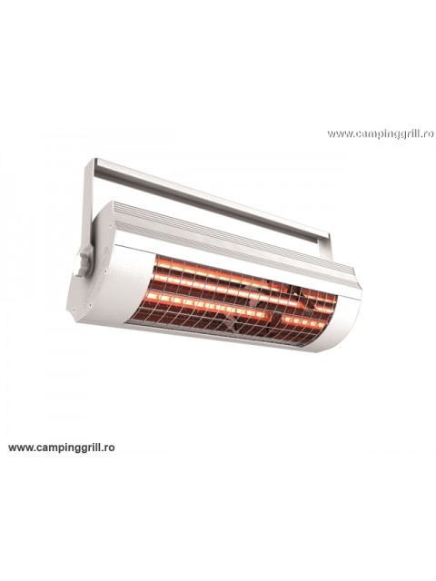 Infrared heater low glare 2000W ECO white