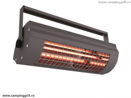 Electrical terrace heater 2000W ECO+ anthracite