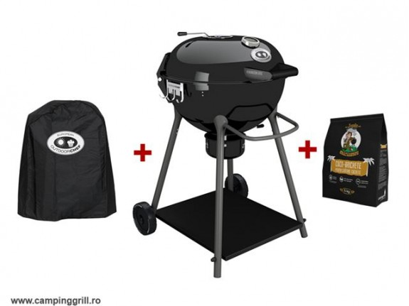 Charcoal Grill OUTDOORCHEF with cover and briquettes