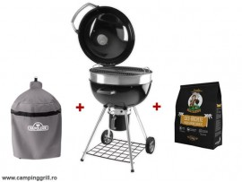 Charcoal grill Napoleon with cover and briquettes