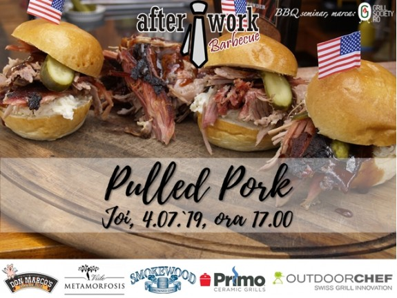 After Work BBQ PULLED-PORK: Thursday, 4th of July