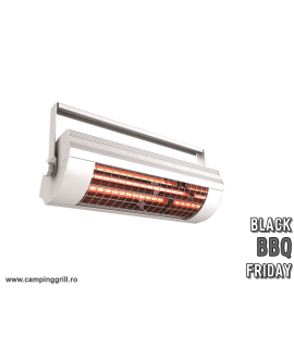 Infrared heater low glare 2000W ECO white BLACK FRIDAY