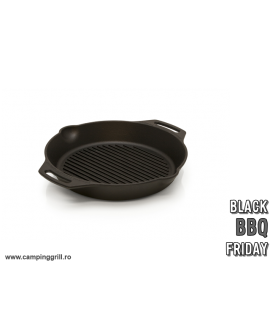 Cast iron pan with handles 30 cm black friday