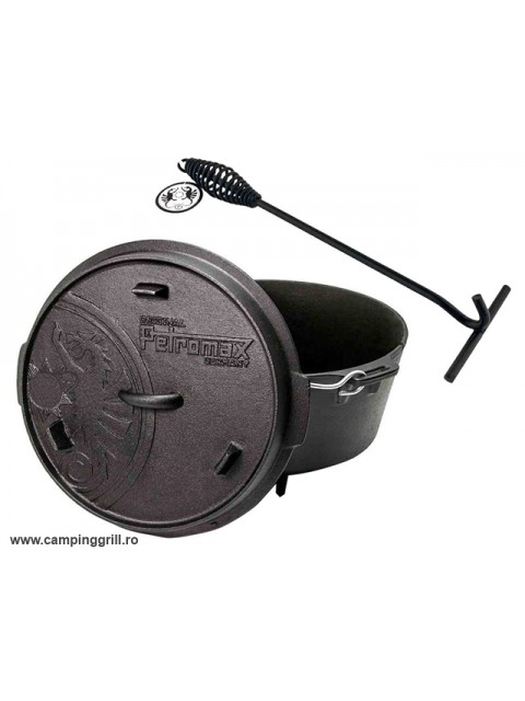 Dutch oven 6 liters with lid lifter