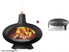Wood stove and BBQ MORSØ FORNO