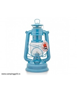 Felinar gaz lampant Albastru pastel