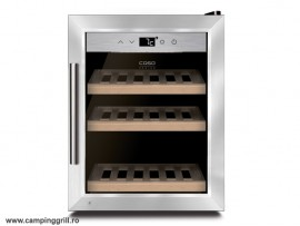 Wine cooler stainless steel Caso WineSafe 12